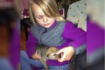 Девочке подарили на день рождения щенка, но он оказался не собакой