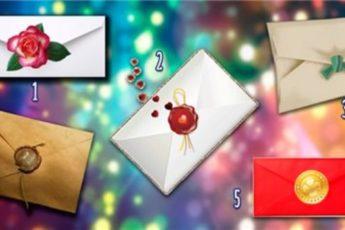 Выберите конверт и узнайте какой сюрприз готовит для вас следующий месяц