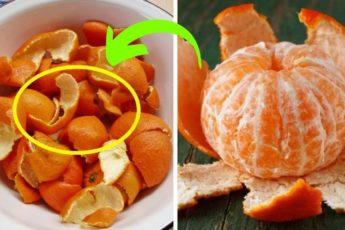 Никогда не выбрасывайте мандариновые корки!