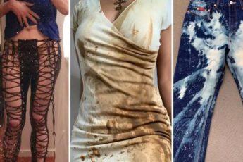 Наряд, который надел один человек, а стыдно всем окружающим: 8 примеров ужасного дизайна одежды