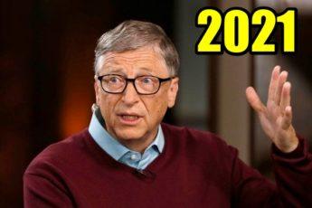 Глобальный прогноз на 2021 год представил Билл Гейтс: что ждет человечество