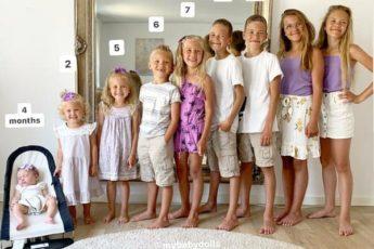 «У меня три сына и шесть дочек»: как выглядит мама, которая в течение 13 лет рожала детей