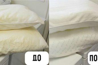 Приводим подушки в порядок, это очень важно знать!